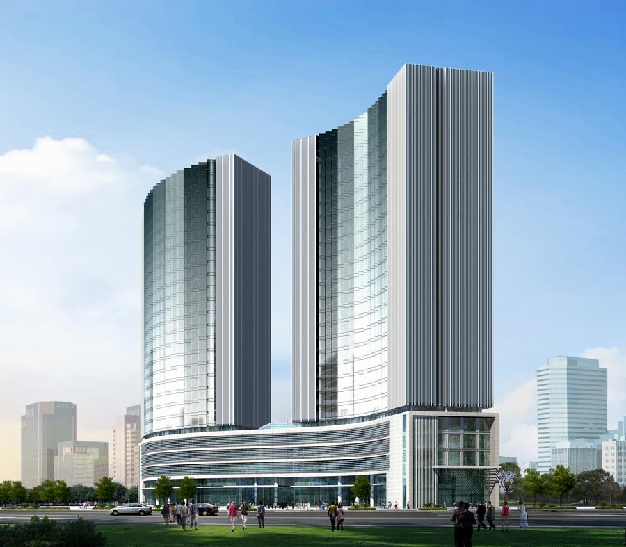 白天鹅国际商务中心(省级示范工地)