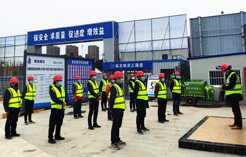 国信集团稳步推进各地工程项目有序复工复产