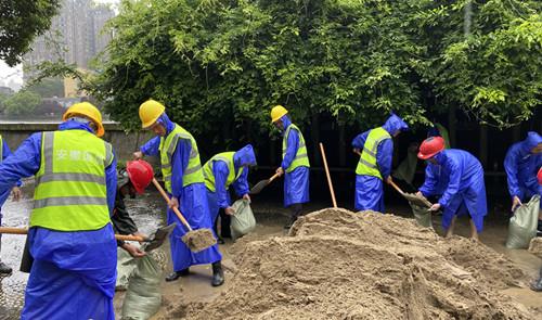 国信集团积极参与抗洪抢险 展现民企责任担当