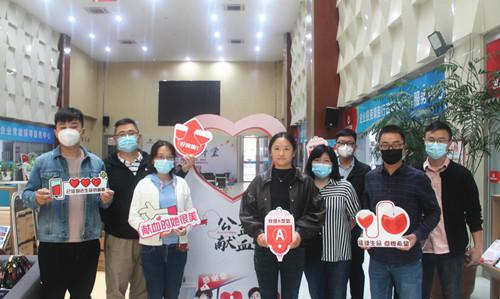 国信集团热血青年在这场献血活动中集结!